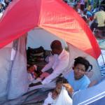victims of the Haiti earthquake