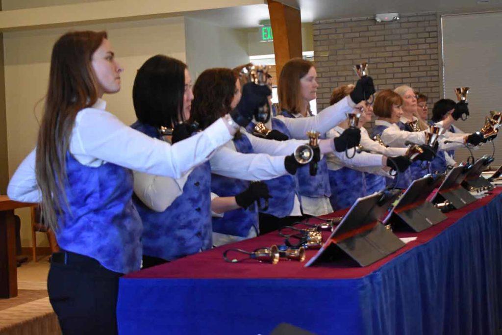 Hand Bell choir at Wellshire